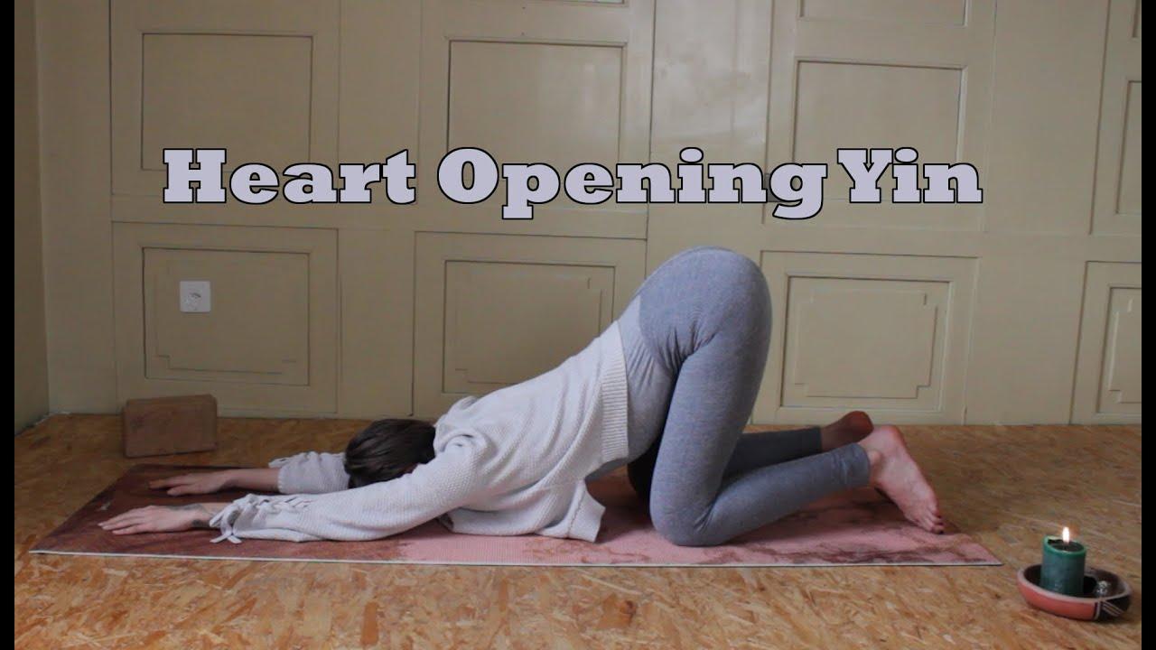 Heart Opening YIN YOGA | 30 minutes