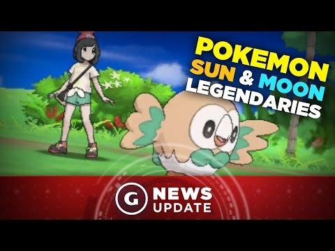 Pokemon Sun & Moon Legendaries Detailed in New Gameplay Trailer - GS News Update