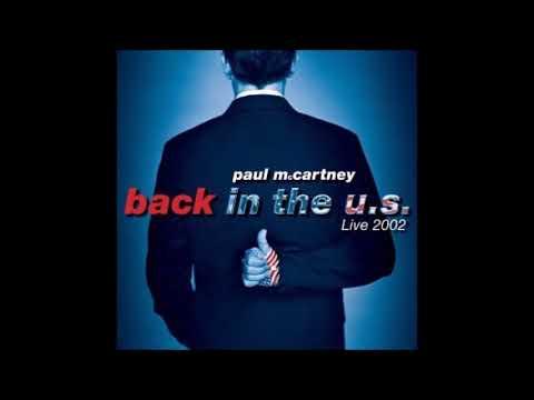 Back In The U.S. / Paul McCartney | ジャケットデザイン.com