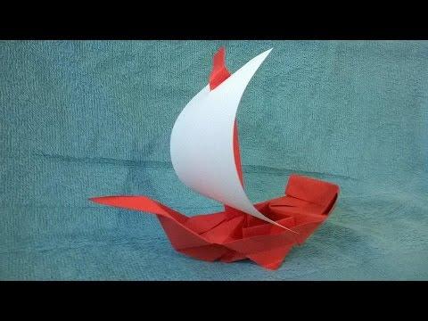 como hacer un barco pirata de papel origami origami