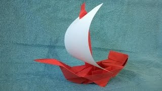 Como hacer un Barco Pirata de papel Origami - Origami Pirate Ship.mp3