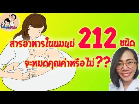 สารอาหารในนมแม่มีมากถึง212ชนิด จะหมดคุณค่าหรือไม่ แม่มือใหม่ต้องดู Nurse Kids