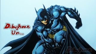 COMO DIBUJAR A BATMAN. how to draw batman. drawing batman