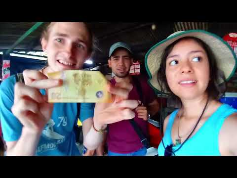 Waiting In the Market in Leon Nicaragua for a Shuttle to Managua