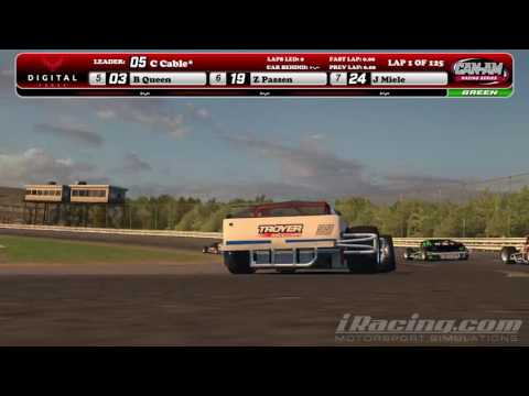 CAN-AM Tour Modified Series @ Stafford Speedway