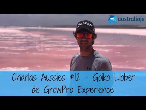 El fundador inquieto. Goiko Llobet de GrowPro Experience. Charlas Aussies #12