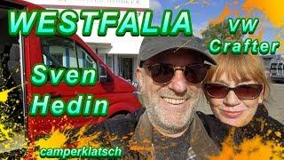 Westfalia Sven Hedin 2018 auf VW Crafter I eine Legende kehrt zurück I camperklatsch