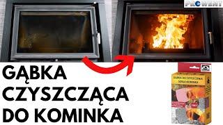 Najlepsza gąbka do czyszczenia szyb kominków i pieców :: Prowent Białystok