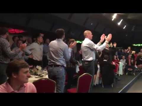 Port of Tallinn's Basketball Team performing songs in 4 languages in Klaipeda