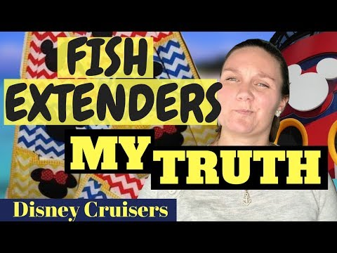 Fish Extenders And Why I Don't Do Them On My DiSNEY CRUiSE