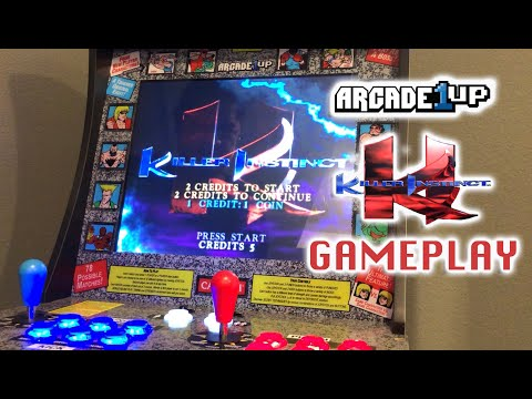 Arcade1up - Killer Instinct Gameplay from Richie Ace