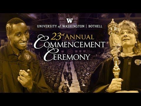 University of Washington Bothell 2014 Commencement