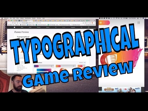 Typographical: Buildbox Game Review 028