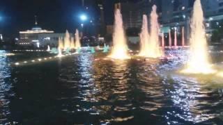 Поющие фонтаны. Красивые музыкальные фонтаны в Астане.