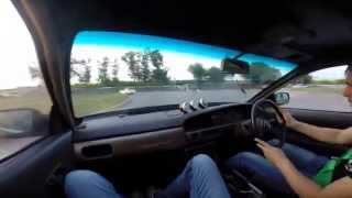 Видео Street Drift Kurgan Nissan Laurel от Lilu51985, улица Малиновского, Курган, Россия