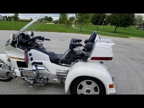 1995 Honda Goldwing California sidecar trike Ebay no Reserve auction