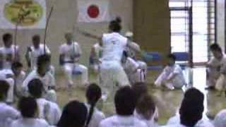 Batizado de Capoeira do Grupo Alma Negra in Osaka Japan 23/10/2005