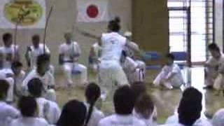 Batizado de Capoeira do Grupo Alma Negra in Osaka Japan 23/10/2005