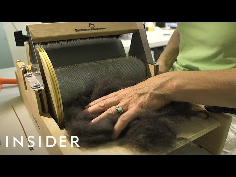 Tanner and Drew - Woman Makes Sweaters Out Of Dog Hair