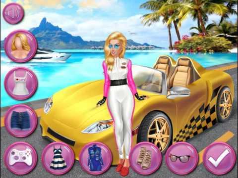 Мультик игра Машина мечты Барби (Barbies Dream Car)