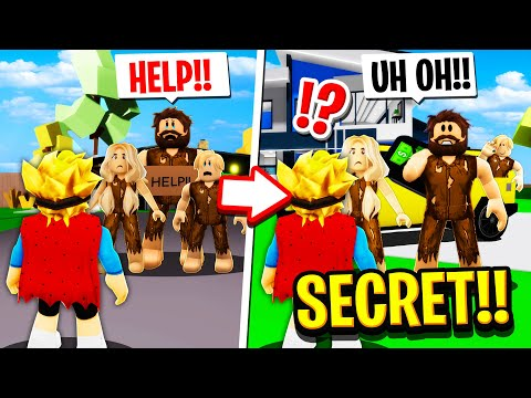 HOMELESS Family Were SECRETLY RICH in Roblox BROOKHAVEN RP!!