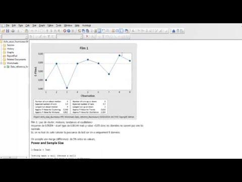 Minitab Presentation generale