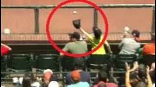 MLB Fans Saving People