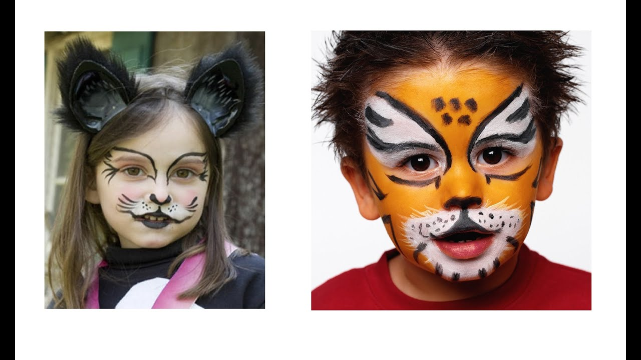 Easy Halloween Makeup Ideas for Kids - DIY Projects - YouTube
