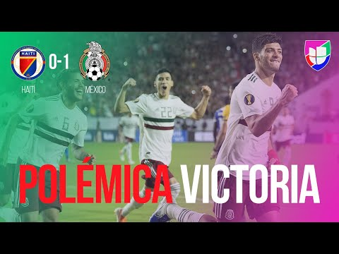 Haití 0-1 México - RESUMEN Y GOL - Semifinal - Copa Oro