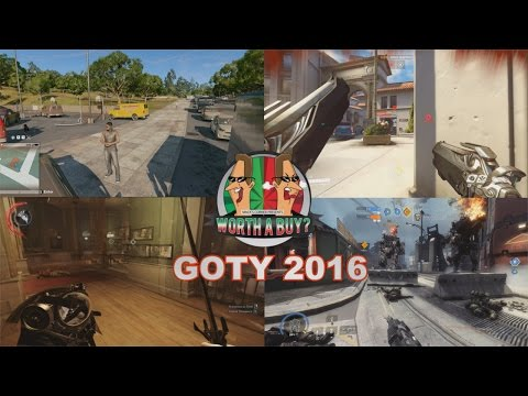 Best and Worst GOTY 2016