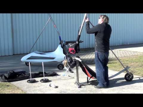 Electricsports Es-trike Aufbau Hanglider Drachenfliegen Volo Deltaplano