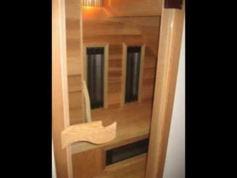 zelfbouw infrarood sauna infrarouge youtube. Black Bedroom Furniture Sets. Home Design Ideas