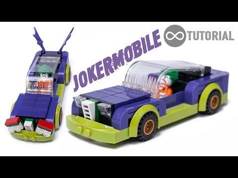 Lego City Joker Car Moc Building Instructions Tutorial Youtube