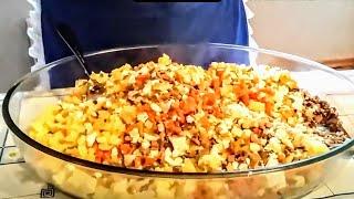 Салат почки под шубой. Цыганка готовит Говяжьи почки. Gipsy kitchen.