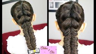 Pull-Through Fishtail: Merged Braids! | Braided Hairstyles | Cute Girly Hairstyles | Sport Hairstyle