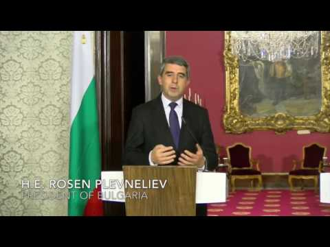 Press Conference during the State Visit by H.E. Rosen Plevneliev, President of Bulgaria