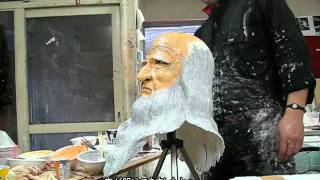 札幌在住の造形作家、吉住ヒロユキによるレオナルド・ダビンチの等身大...