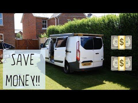 SAVING MONEY - DIY Campervan TIPS & TRICKS
