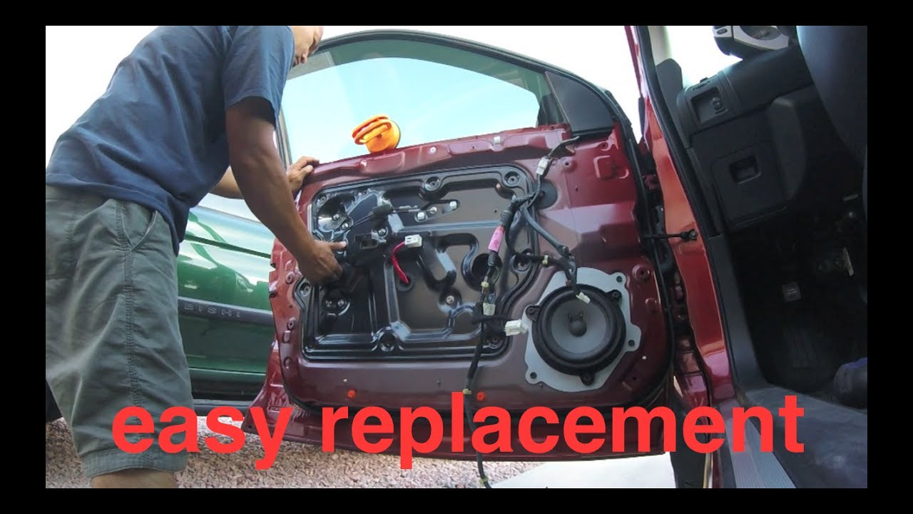 small resolution of  just follow nissan murano window motor regulator replacement fix it angel