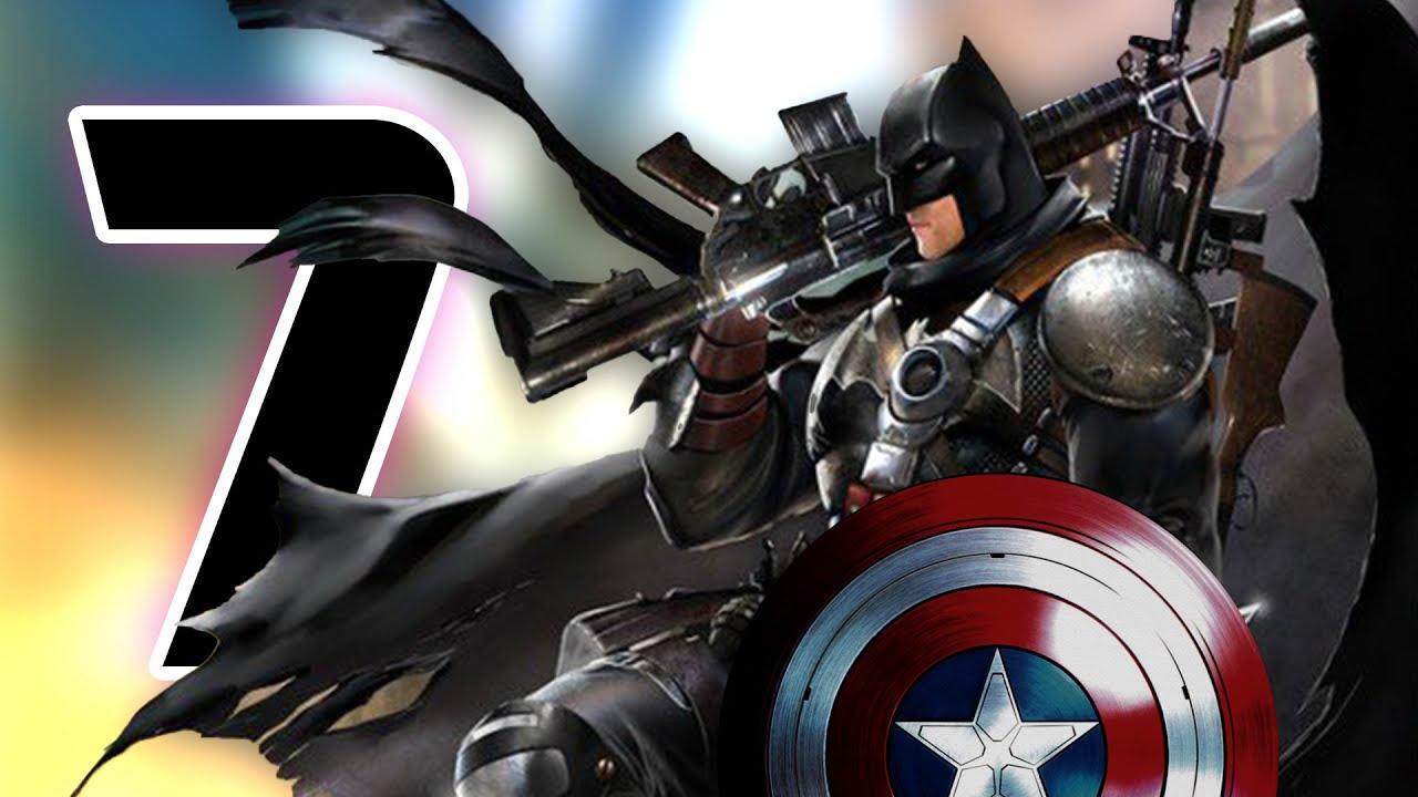كيف سيتغلب باتمان على اقوى7 من الافنجرز