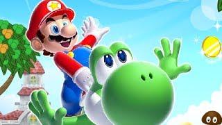 Run Run Run! Mario  Level 1-5 Walkthroug