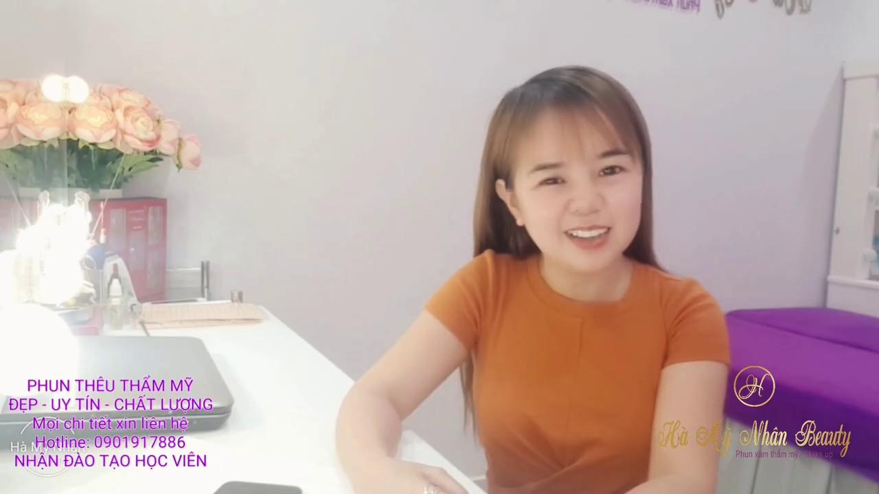 CÁCH VẼ CHÂN MÀY CHO NGƯỜI MỚI BẮT ĐẦU – BÀI 1 || Học Phun Xăm Online với Thanh Hà Thanh Hằng