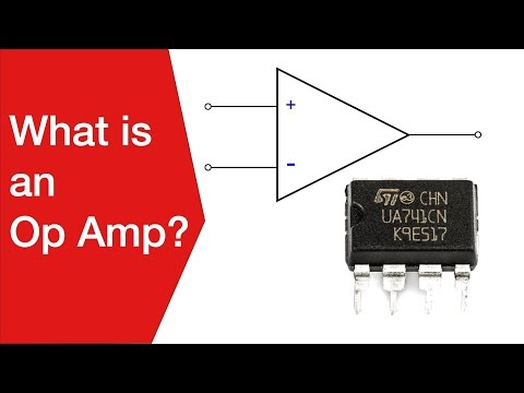 What is an Op Amp  | Operational Amplifier Basics