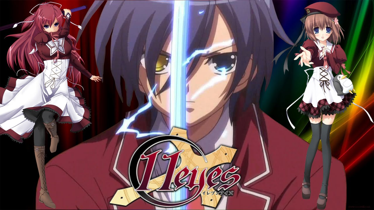 anime 11 eyes kiss: Anime Review: 11 Eyes Por Kuroi T.