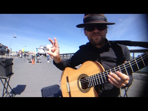 live san francisco bay - california guitar music