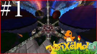 FIRST TIME PLAYING PIXELMON!!! Minecraft Pixelmon Mod #1 w/ TheProVidz