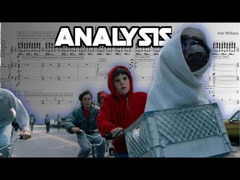 """E.T.: """"Bike Chase"""" By John Williams(Score Reduction And Analysis)"""