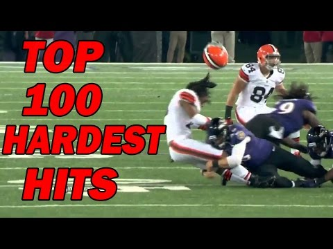 Top 100 Hardest Football Hits of All-Time
