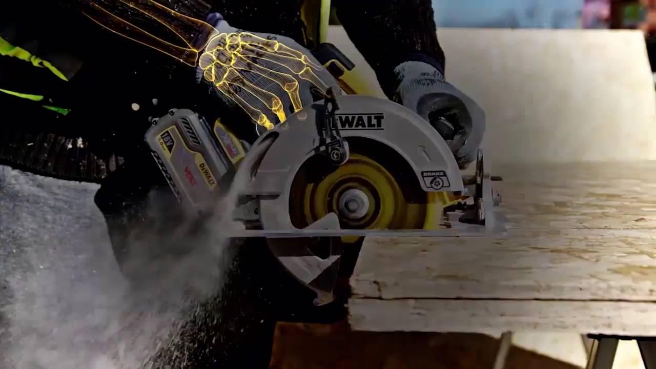 DeWalt DWE576K Circular Saw Track Base 240v
