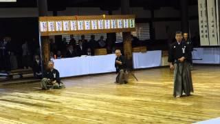 Kyoto Taikai 2013 - Sato Sensei, Matsuoka Sensei and Ito Sensei